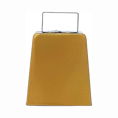 "4"" Gold Cowbell"