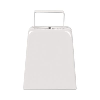 "4"" White Cowbell"