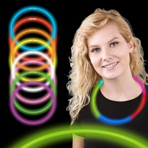 50 Assorted Color Glow Necklaces