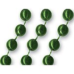 Green Mardi Gras Beads