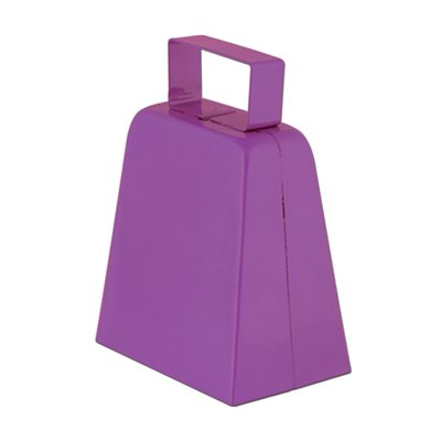 "4"" Purple Cowbell"