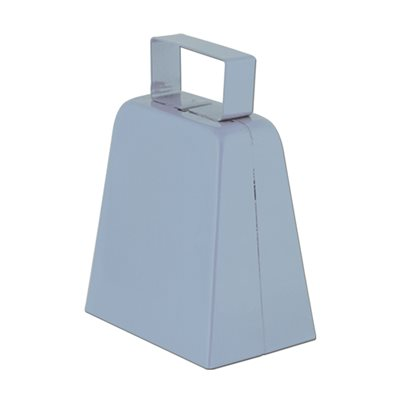 "4"" Silver Cowbell"