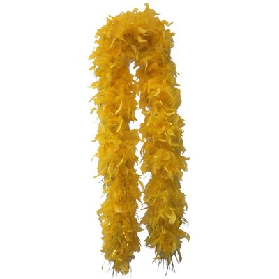 Gold Feather Boa (6' 60 grams)