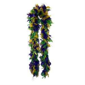 Mardi Gras Feather Boa (6', 60 grams)