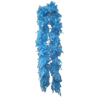 Teal Feather Boa (6', 60 grams)
