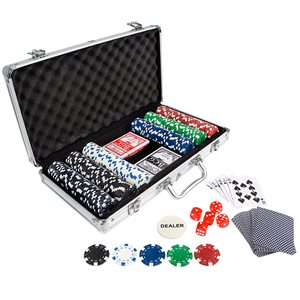 300 Poker Chip Set in Aluminum Case