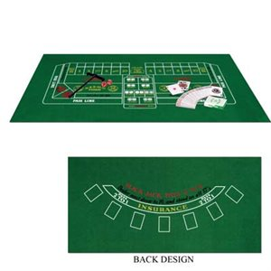 Black Jack & Craps Laydown Set