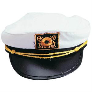 White Yacht Hat