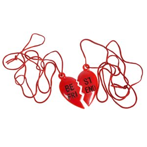 "Collier 2 PC ""Best Friend"""