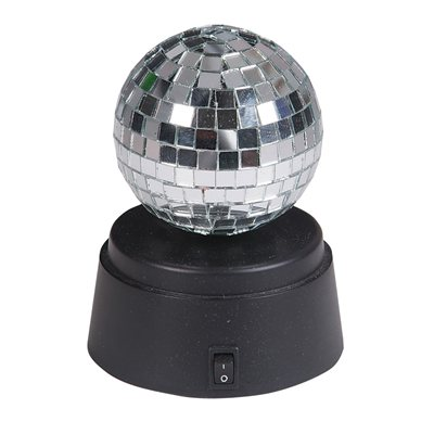 "4.5"" Rotating Mirror Ball"