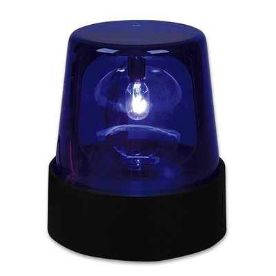 Blue Police Light