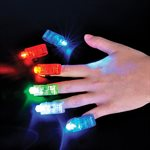 4 Light Up Finger Beams