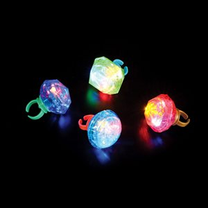24 Jumbo Light Up Ring