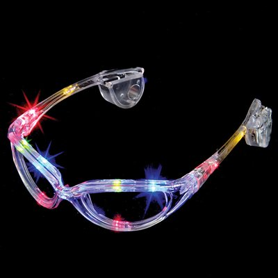 Rainbow Light Up LED Glasses