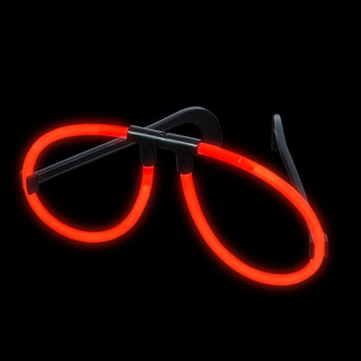 Red Glow Glasses