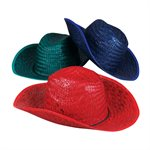 Straw Cowboy Hat Assorted
