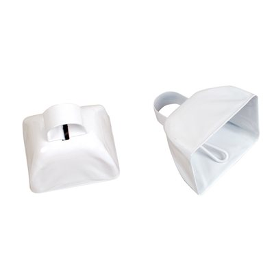 "3"" White Cowbell"