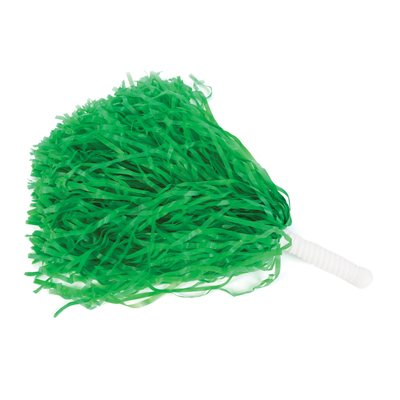 Green Pom Pom Shakers