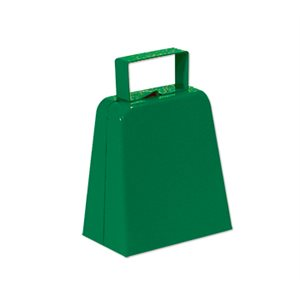 "4"" Green Cowbell"