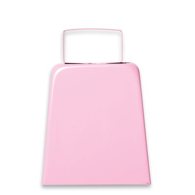 "4"" Pink Cowbell"