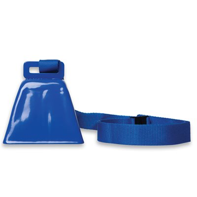 Blue Cowbell on Lanyard