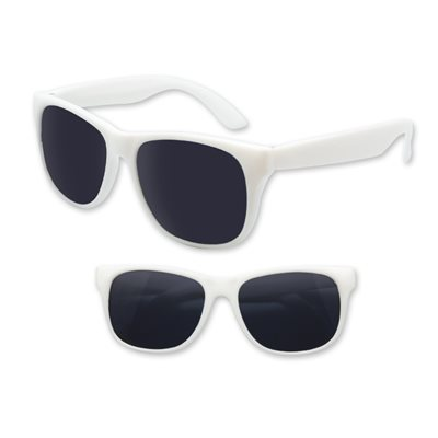 White Blues Brothers Sunglasses