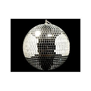 "8"" Mirror Ball W / Base"