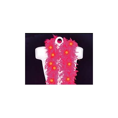 Pink Light Up Feather Boa