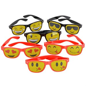 Mesh Emoticon Sunglasses
