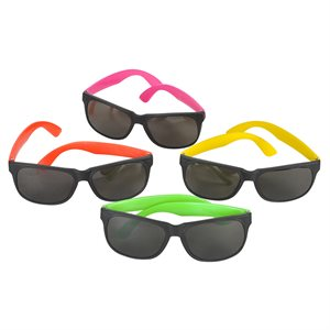Assorted Plastic Neon Sunglasses