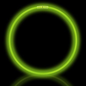 50 Green Glow Necklaces