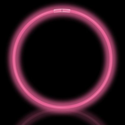 50 Pink Glow Necklaces