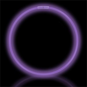 50 Purple Glow Necklaces